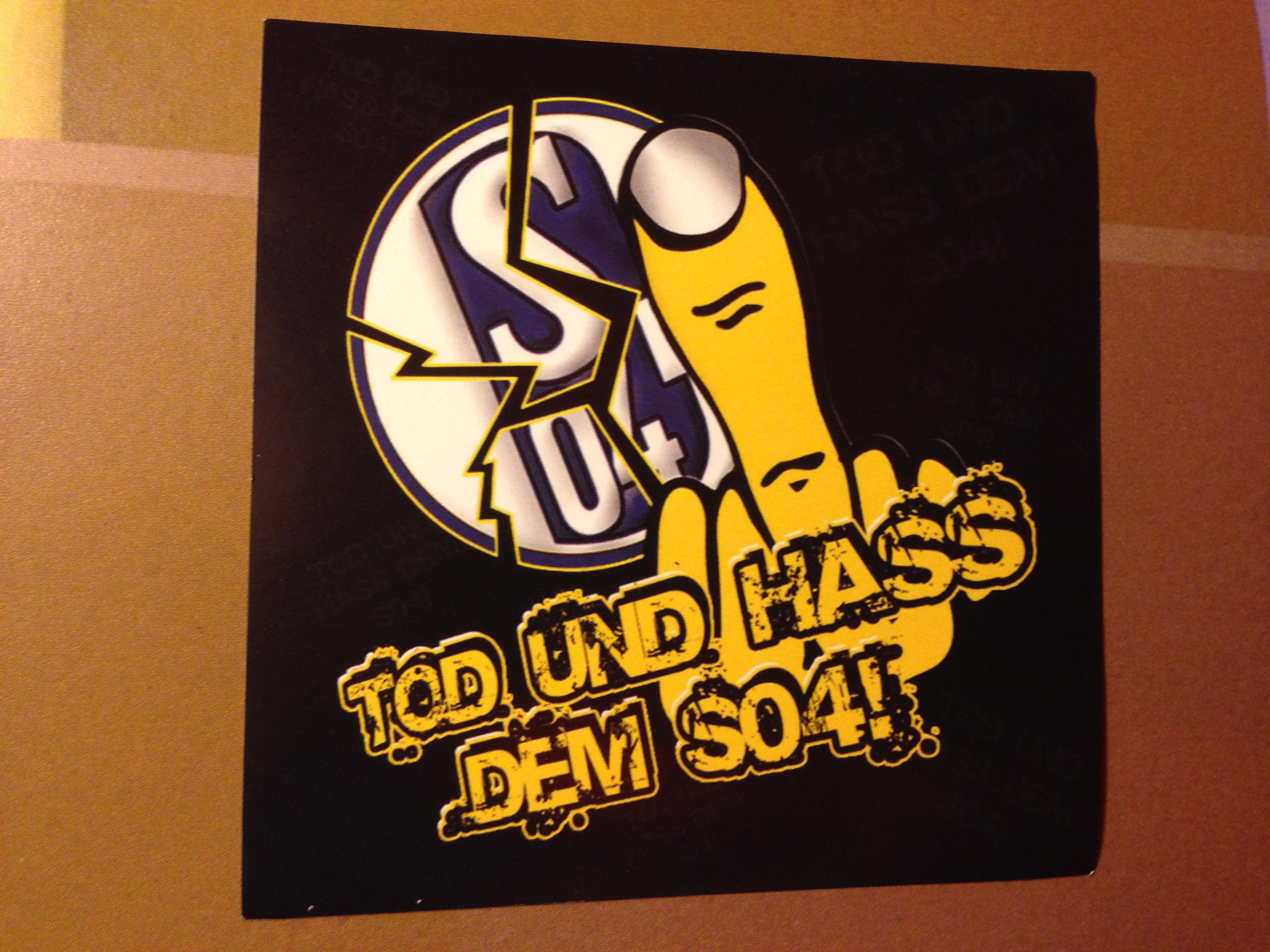 Dortmund Bvb Anti Schalke Ultrà Gallery